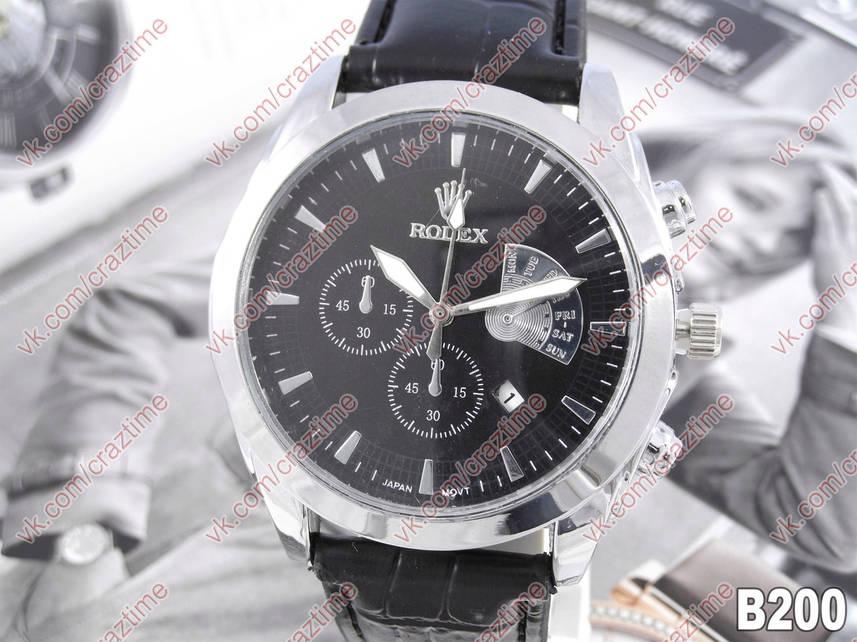 Мужские кварцевые наручные часы Rolex B200 (515036306). Цена, купить ... 72f5fc6aead