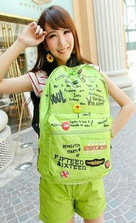 молодежный рюкзак с надписями