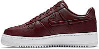 Женские кроссовки Nike Lab Air Force 1 Low Night Maroon Red