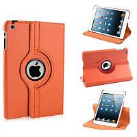 Оранжевый чехол для iPad mini поворотный, 360 градусов