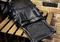 Мужской кожаный рюкзак. Модель 2901, фото 5