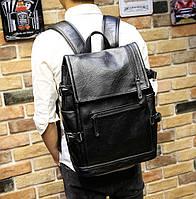 Мужской кожаный рюкзак. Модель 2901, фото 2