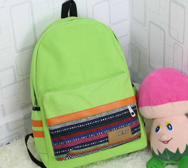 Рюкзак с этническим орнаментом