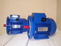 Электродвигатель однофазный  0,37 кВт 3000 об Электромотор
