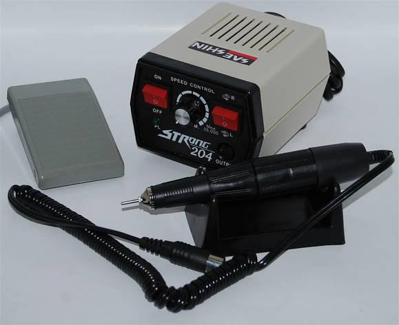 Фрезер Strong 204 - профессиональный аппарат для аппаратного маникюра и педикюра, фото 2