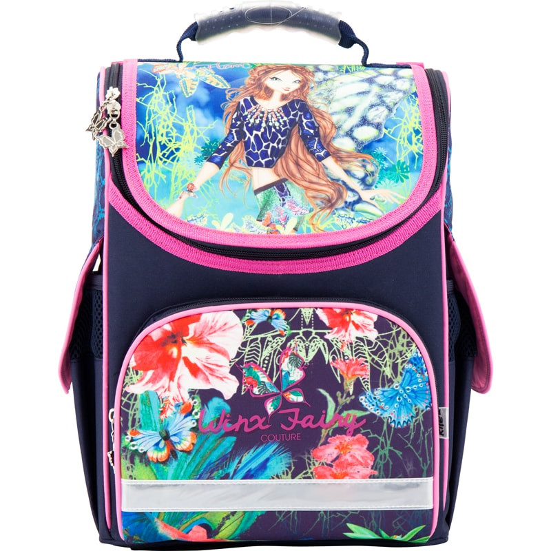 Рюкзак школьный каркасный (ранец) Kait 501 Winx-1