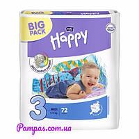 Подгузники Bella Happy 3 Big Pack (5-9 кг) 72 шт