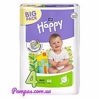 Подгузники Bella Happy 4 Big Pack (8-18 кг) 66 шт