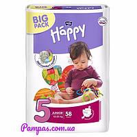 Подгузники Bella Happy 5 Big Pack (9-20 кг) 58 шт