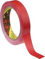 3М 6893 Односторонняя клейкая лента для фиксации краев клише 0,057мм х 12мм х 66м, красная