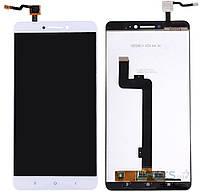 Дисплей (экран) для телефона Xiaomi Mi Max + Touchscreen White