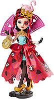 Лиззи Хартс оригинальная кукла Mattel из серии Эвер Афтер Хай Дорога в страну чудес, Ever After High