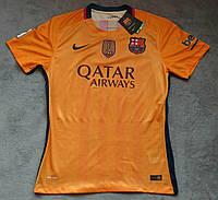 Футболка Барселона оранжевая 2015-2016