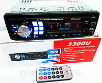 Автомагнитолы Pioneer 3300U Usb+Sd+Fm+Aux+ пульт, фото 1