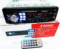 Автомагнитолы Pioneer 3300U Usb+Sd+Fm+Aux+ пульт