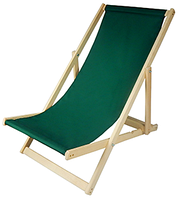 Пляжное кресло деревянное