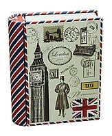 Коробка-книжка жестяная Лондон, малая, 100 г