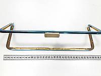 Рамочный замок для сумки D1194 св.золото 33 см