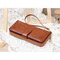 Женский кошелек Baoleshi высокого качества. Практичный и удобный кошелек. Стильный дизайн. Код: КДН1598
