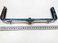 Рамочный замок для сумки D1216 никель 25 см