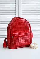 Стильный рюкзак красного цвета