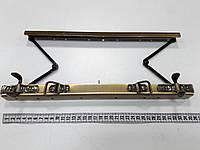 Рамочный замок для саквояжа K7708 ст.латунь 35 см