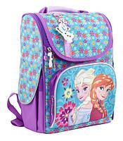 Рюкзак + пенал в подарок_ каркасний H-11 Frozen purple, 34*26*14код товара 553273