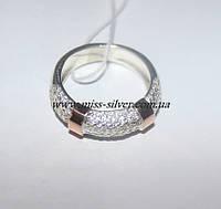 Серебряное кольцо с цирконами Мириам