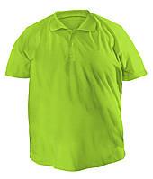 Футболка мужская поло большого размера цвет оливка