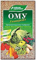 ОМУ Универсал, 3кг, Органоминеральное удобрение БХЗ