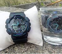 Часы мужские CASIO G-SHOCK black-blue