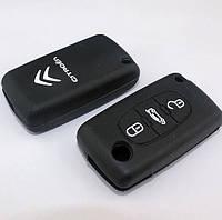 Чехол для ключа автомобиля Citroen с логотипом