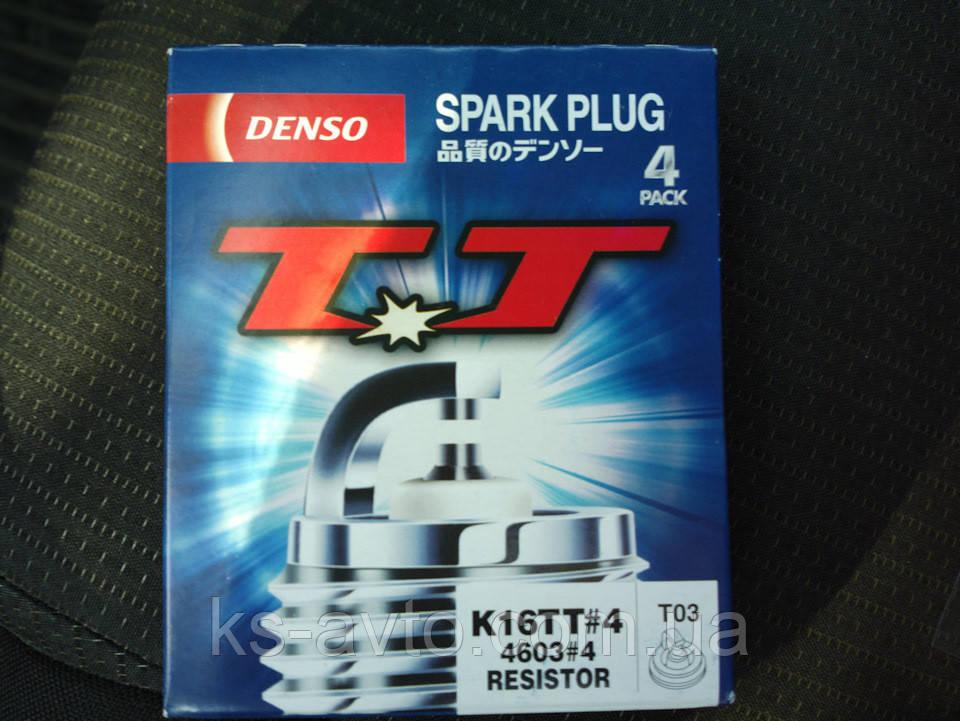 Свеча зажигания DENSO K16TT (Lanos 1.6. Lacetti 1.6) (под ГБО)
