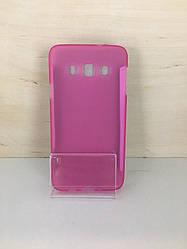 Силиконовый чехол-накладка для Samsung Galaxy A3 2015 (A300) (Розовый)