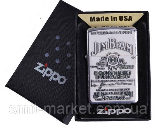 Зажигалка бензиновая Zippo Jim Beam7, фото 2