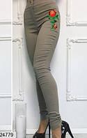 Женские джинсы с вышивкой 24779  КТ-925
