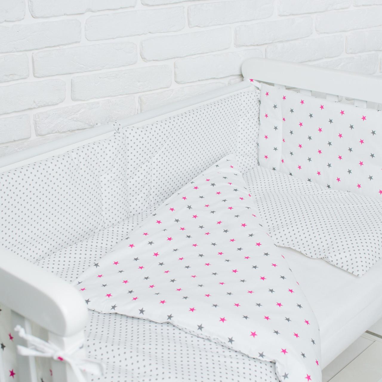 Комплект білизни в дитяче ліжечко (Зорепад)