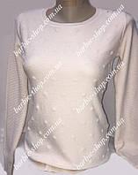 Стильная белая кофточка для женщин  68885