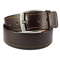 Мужской кожаный ремень KB 50-02 коричневый
