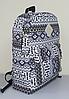 Городской рюкзак с орнаментом, фото 9