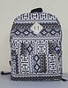 Городской рюкзак с орнаментом, фото 5