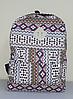 Городской рюкзак с орнаментом, фото 4