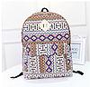 Городской рюкзак с орнаментом, фото 2