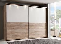 Комбинированные шкафы-купе со шпоном