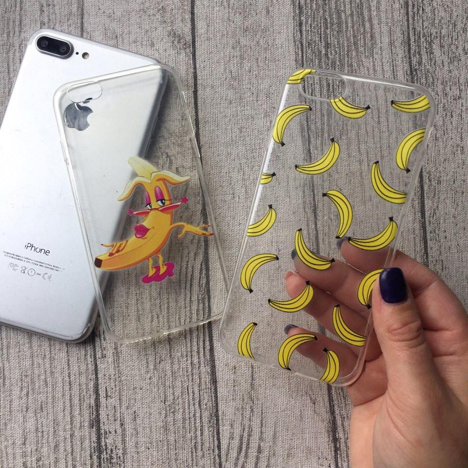 Силиконовые чехлы с бананами для iPhone 4/4s