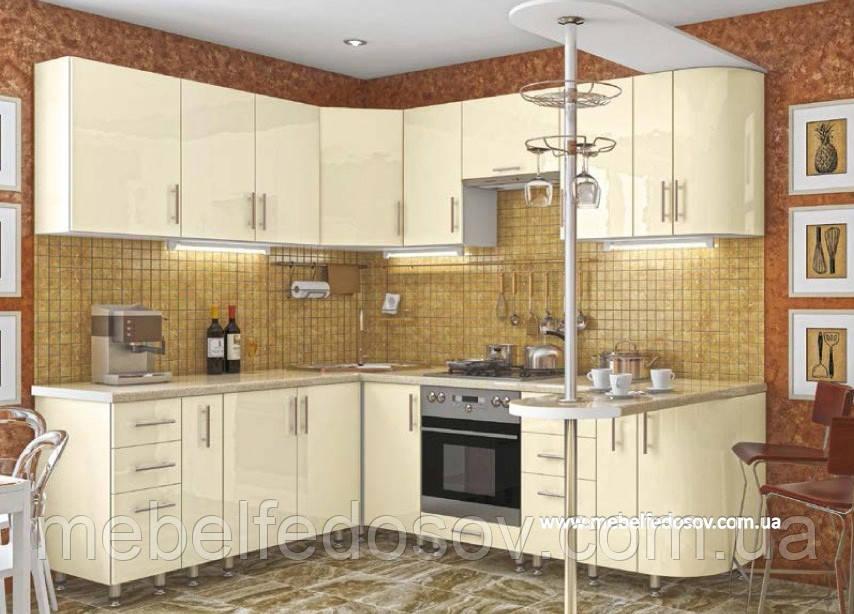 Кухня Hihg Gloss / Хьюго Глосс (Мебель стар) ваниль