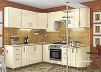 Кухня Hihg Gloss / Хьюго Глосс (Мебель стар) ваниль, фото 1
