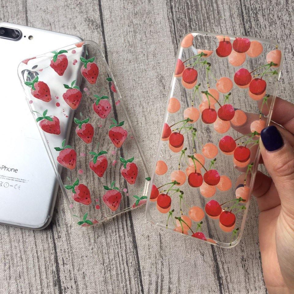 Силиконовые чехлы с ягодами для iPhone 4/4s