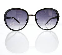 Массивные женские очки-авиаторы от солнца