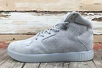 Кроссовки мужские Adidas Originals Tubular Invader Strap 2.0 Grey (адидас) серые